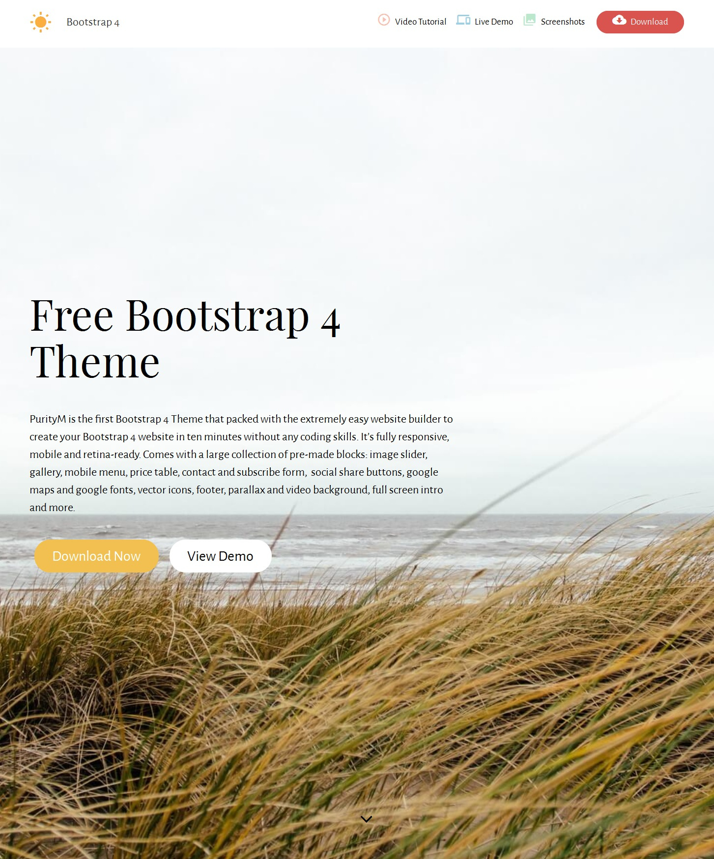 CSS3 Bootstrap Image Gallery Theme