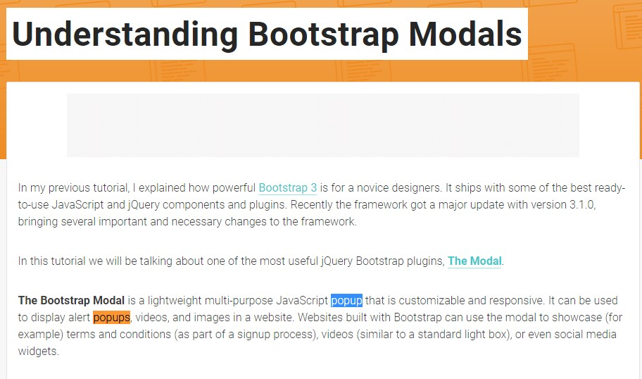 Yet another  handy  post  relating to Bootstrap Modal Popup
