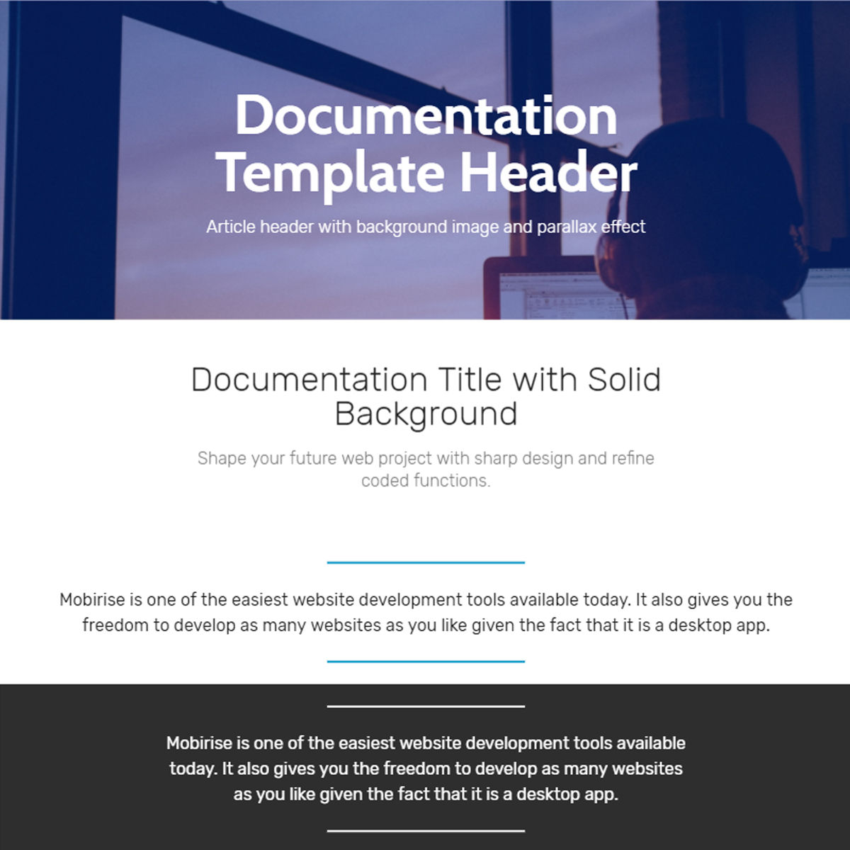 Responsive Bootstrap  documentation  Themes