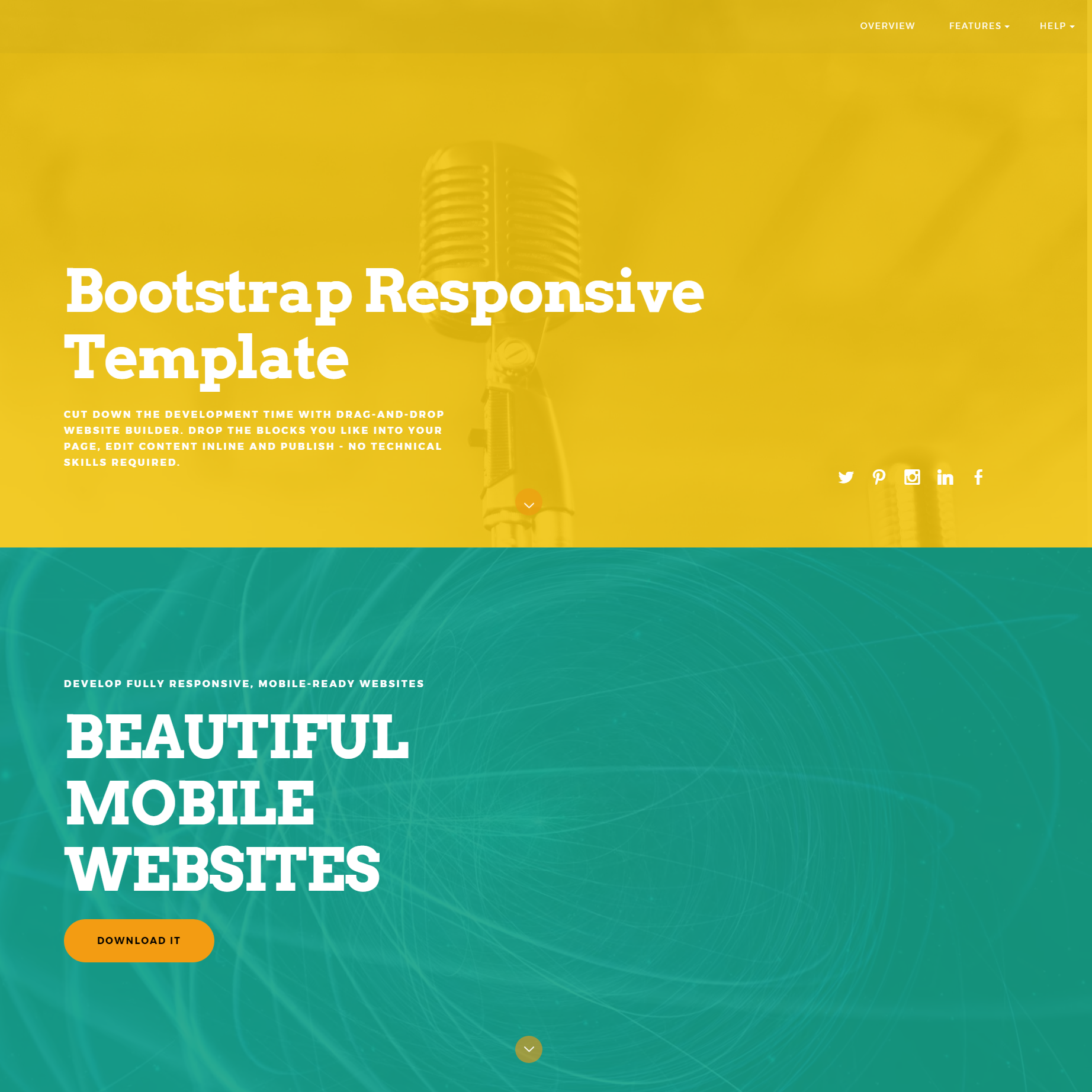 Free Download Bootstrap Responsive Themes