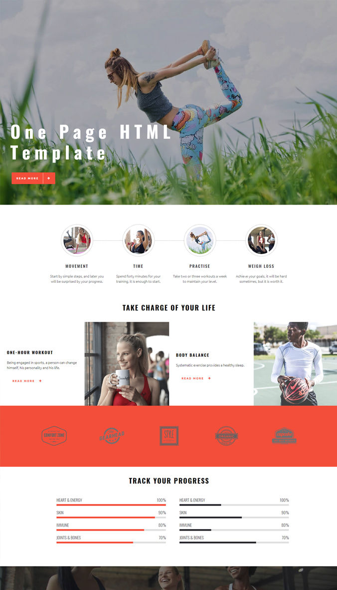 Personal Template for Website