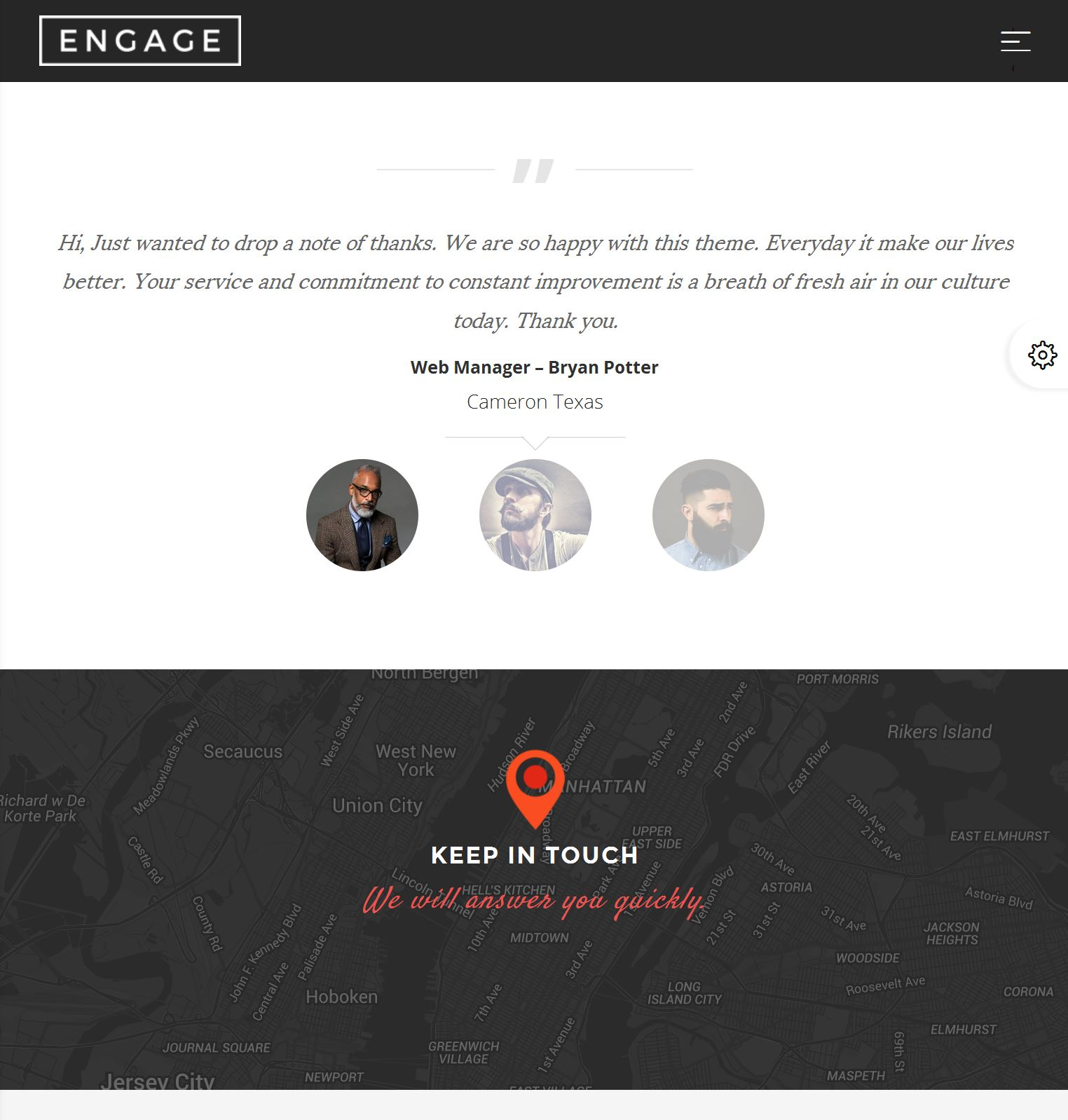 Bootstrap Blog Template Free