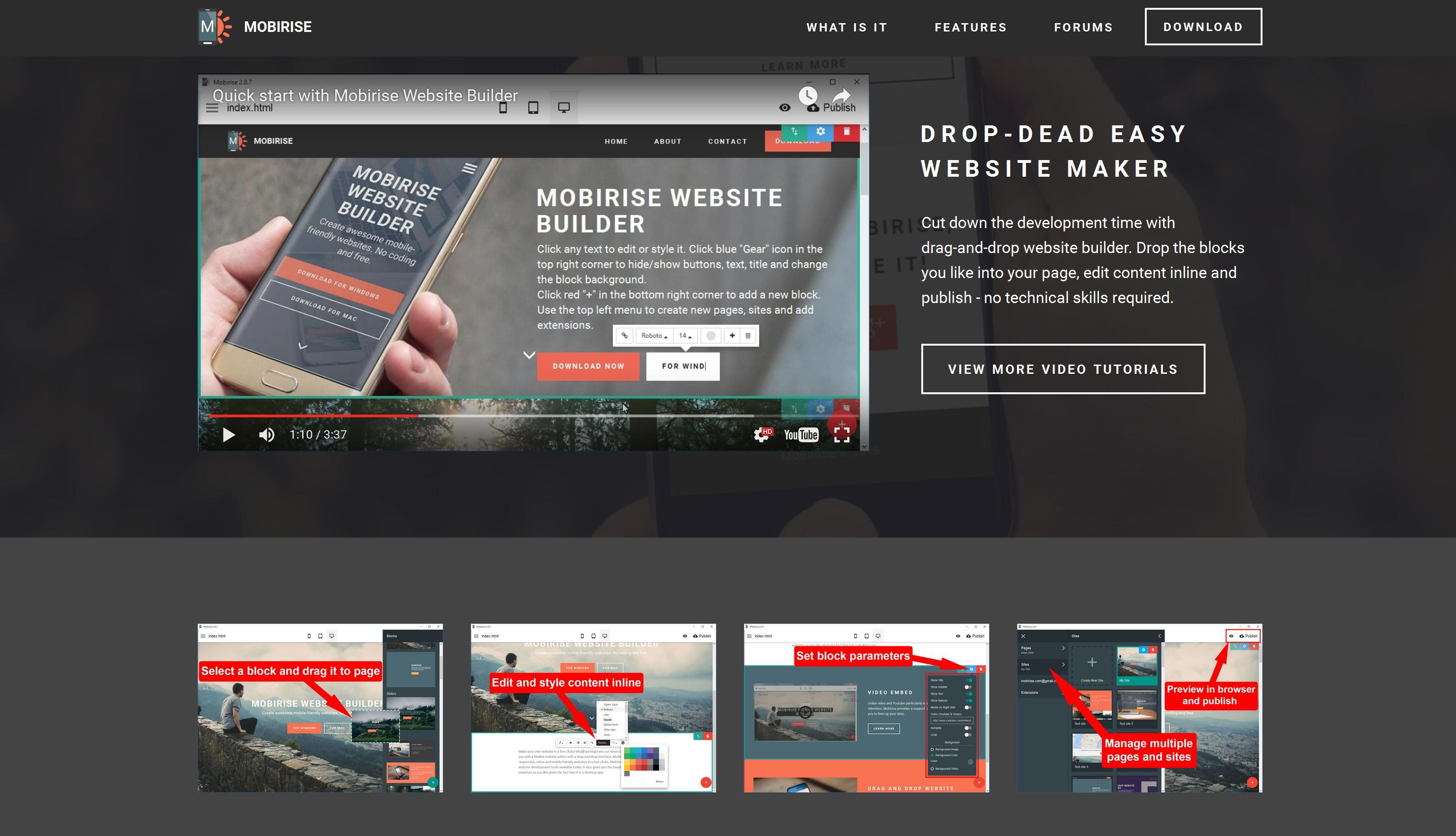Offline Mobile Website Creator Review
