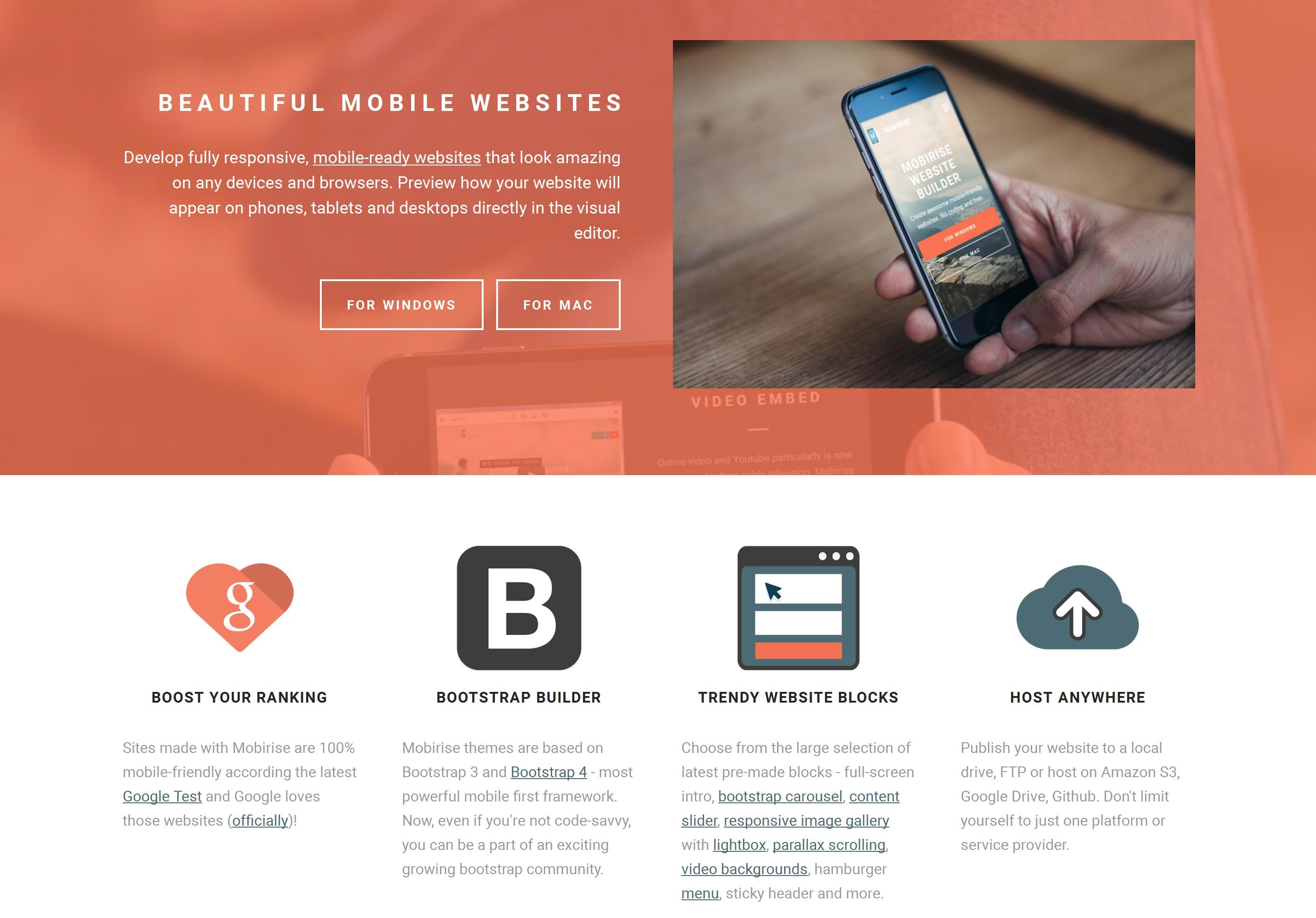 Best Mobile Website Generator Software