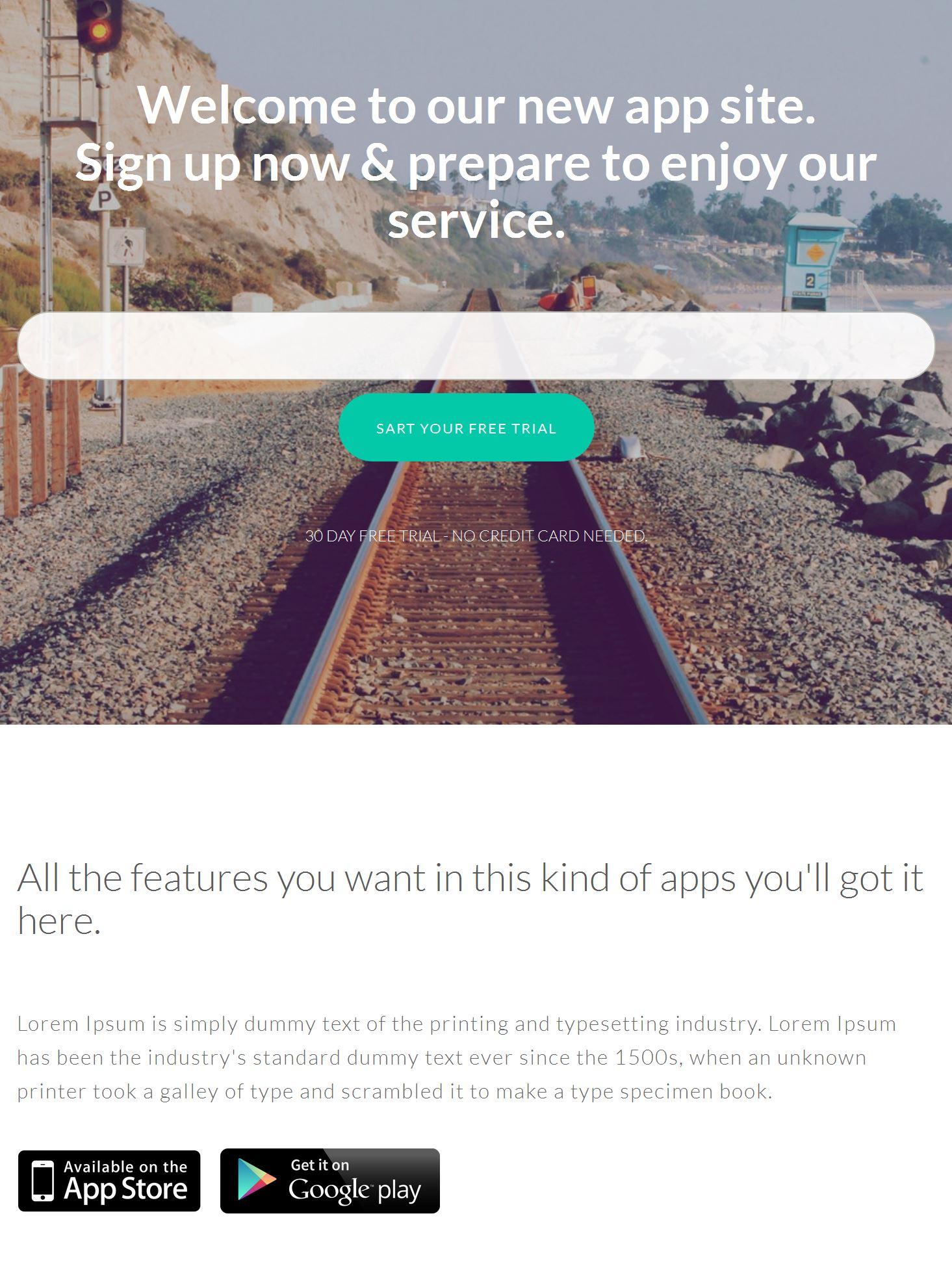Bootstrap News Template
