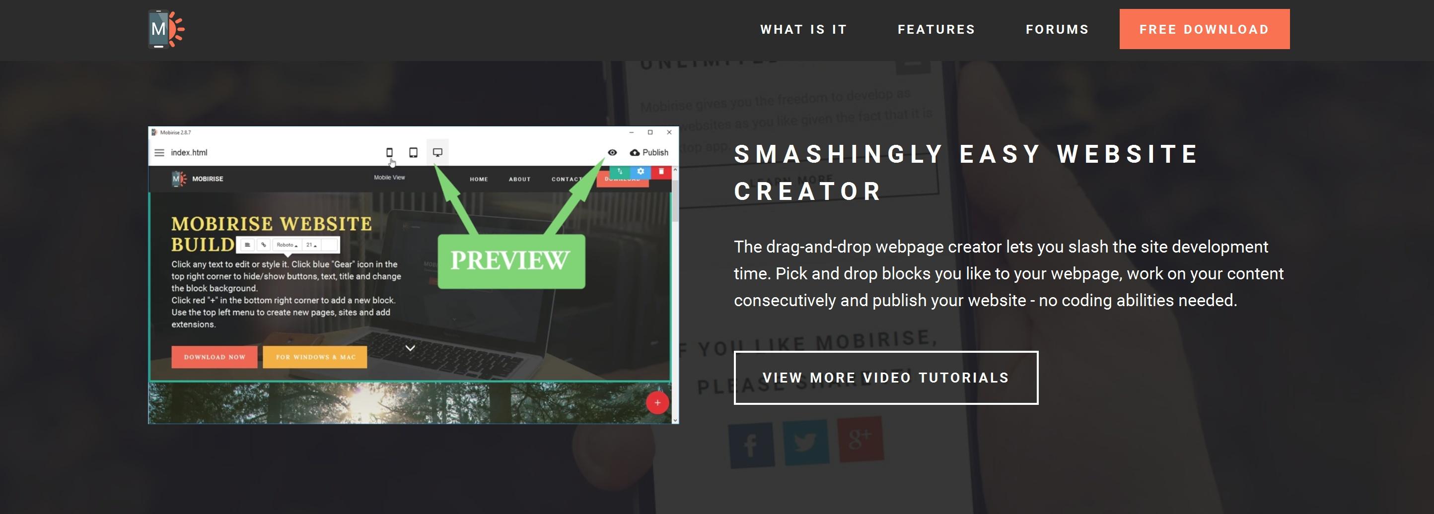 Very Simple Website Creator