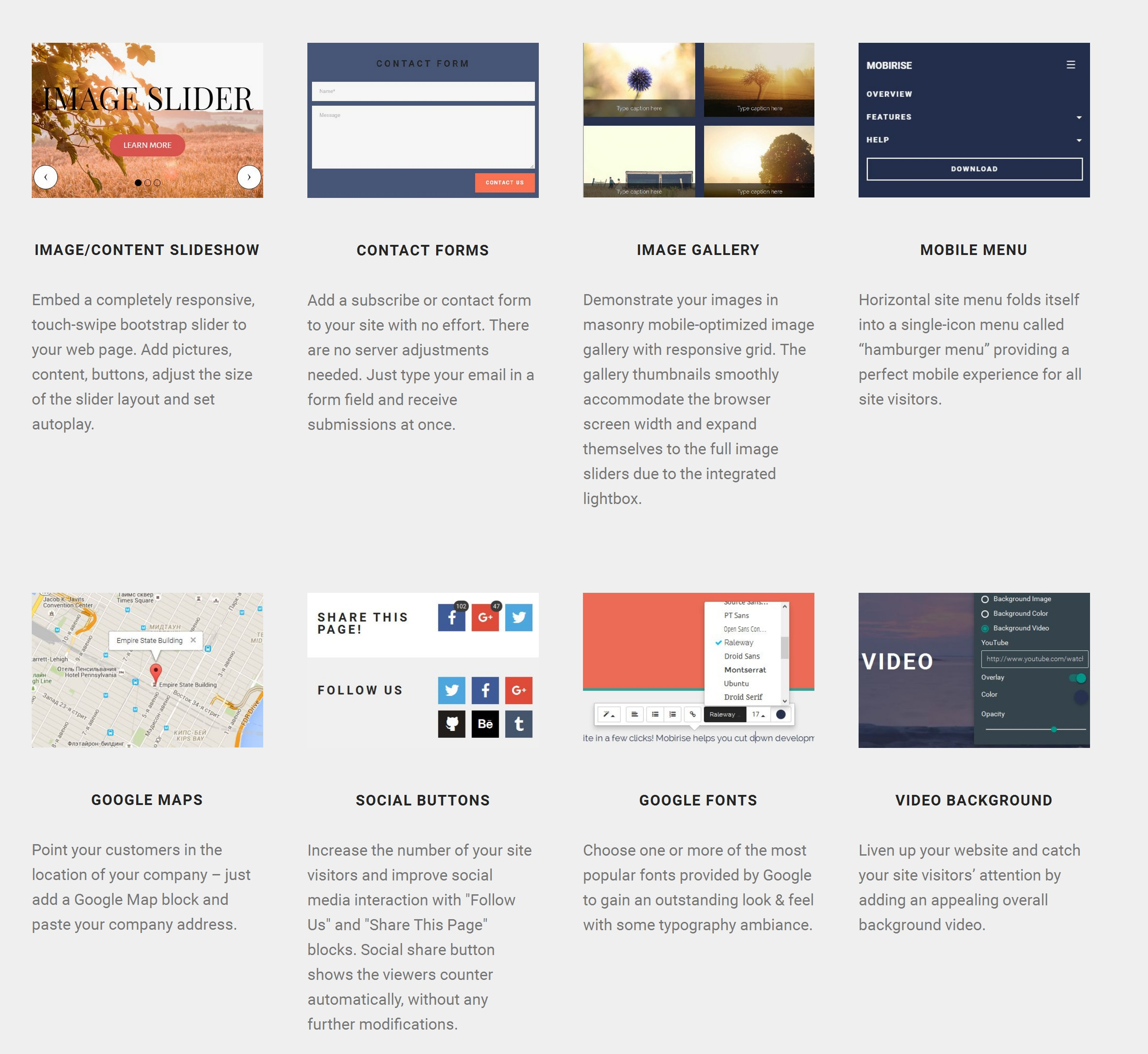WYSIWYG Easy Website Builder Tool
