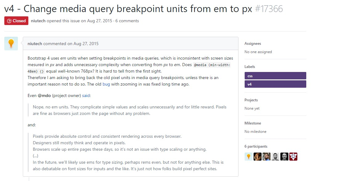 Transform media query breakpoint  systems from <code></div>em</code> to <code>px</code>