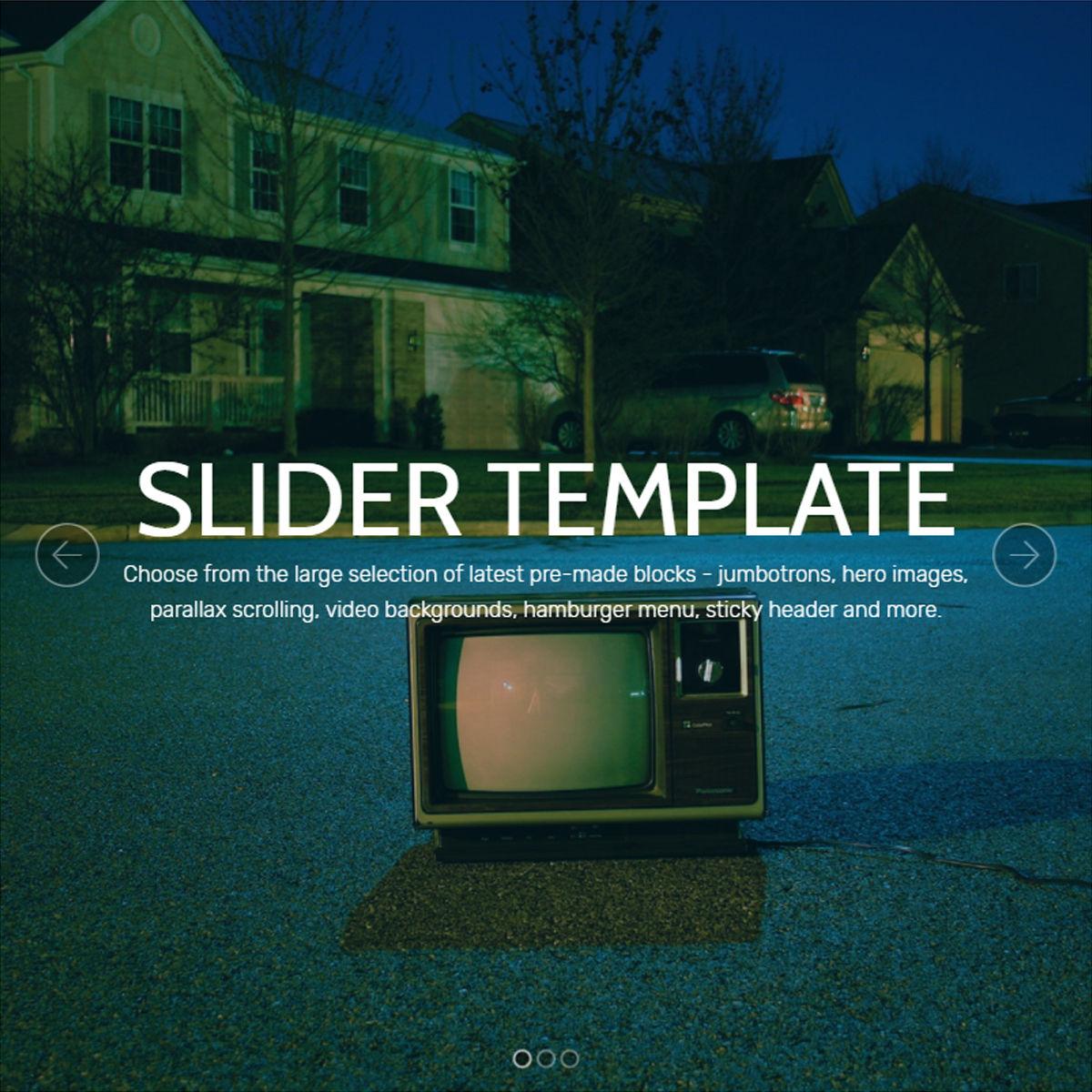 Mobile Bootstrap  Slider  Themes