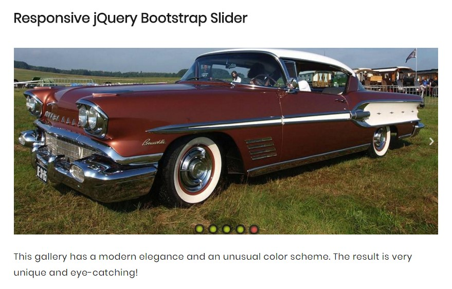 Bootstrap Slider Free Download