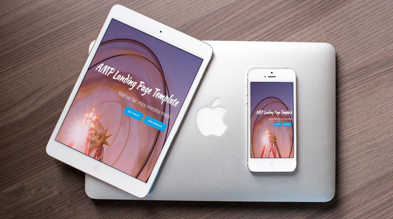 AMP Landing page
