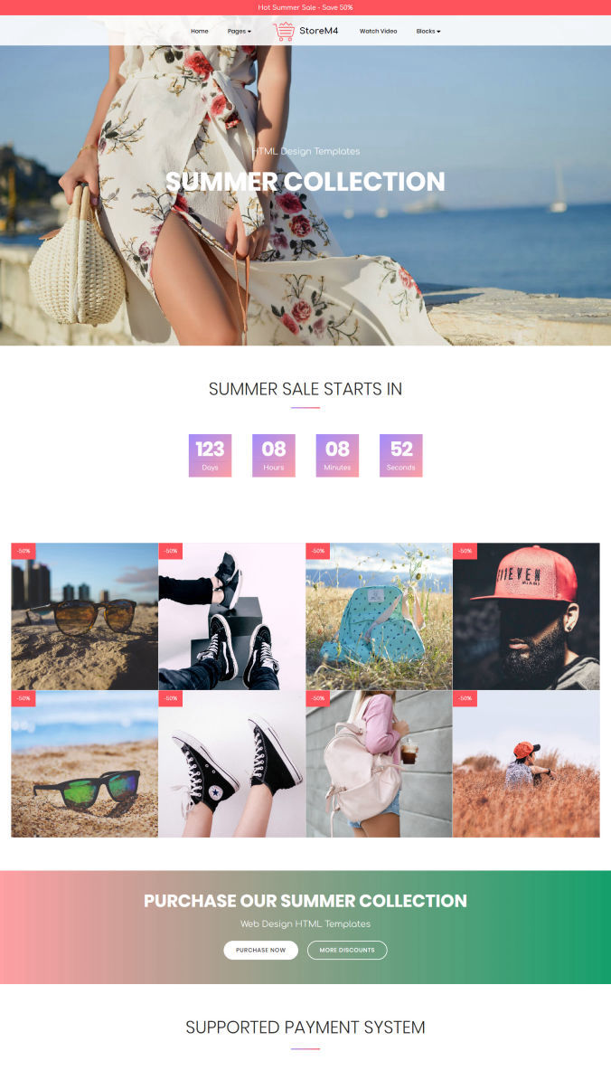 Bootstrap Template for Website