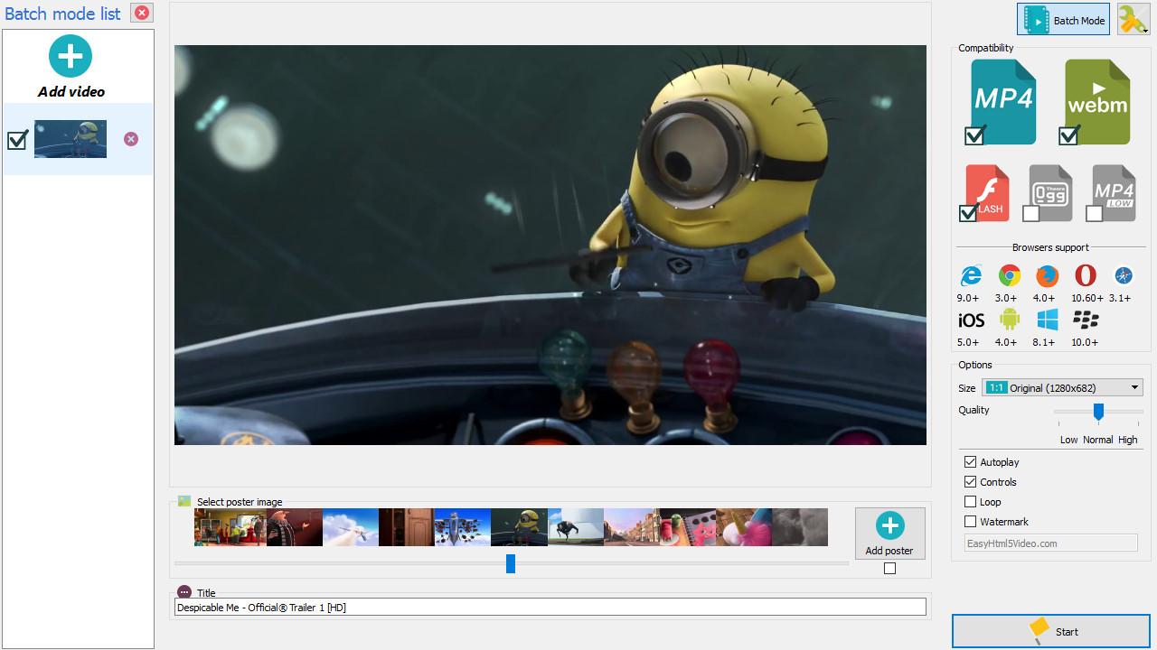 autoplay video html